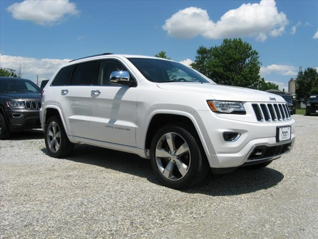 Pre-Owned 2016 Jeep Grand Cherokee 4X4 Overland w/ Navigation