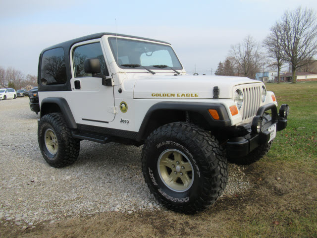 Pre-Owned 2006 Jeep Wrangler Sport Golden Eagle 4X4