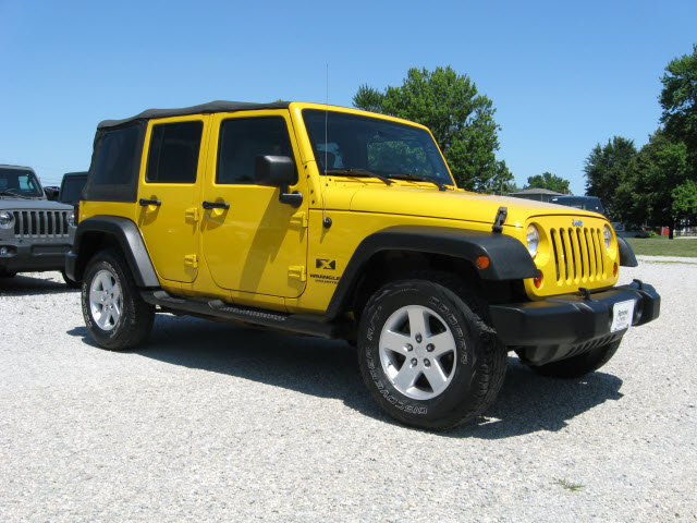 Pre-Owned 2008 Jeep Wrangler Unlimited 4X4 X