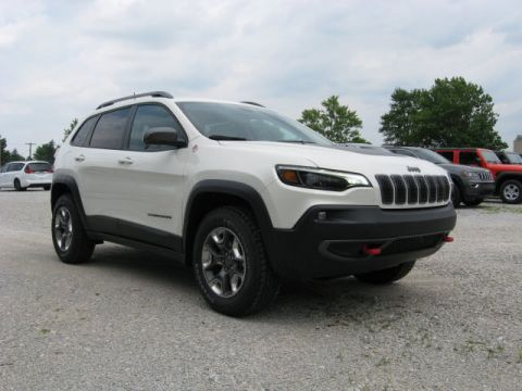 New 2019 JEEP Cherokee 4X4 Trailhawk Elite