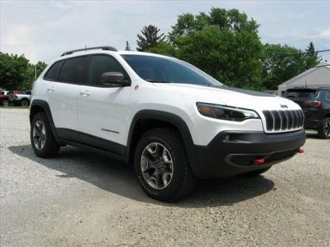New 2019 JEEP Cherokee 4X4 Trailhawk