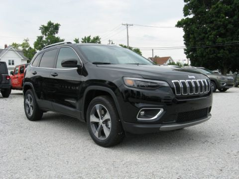 New 2019 JEEP Cherokee 4X4 Limited w/ Navigation