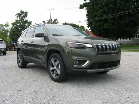 New 2019 JEEP Cherokee 4X4 Limited
