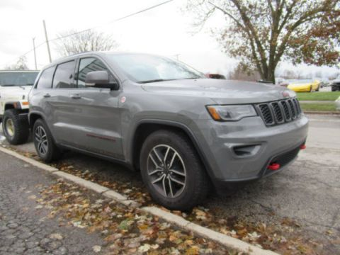 New 2020 JEEP Grand Cherokee Trailhawk 4X4 w/Nav