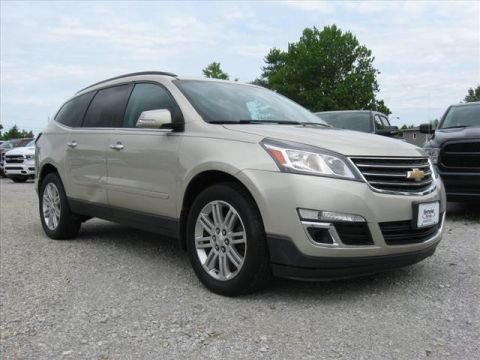 Pre-Owned 2013 Chevrolet Traverse AWD LT