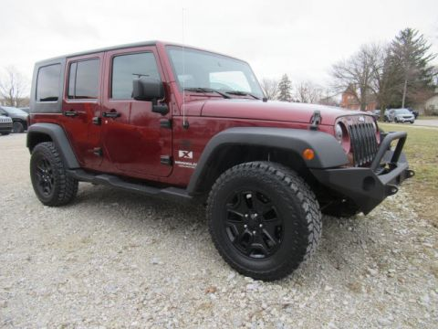 Pre-Owned 2007 Jeep Wrangler X Unlimited 4X4