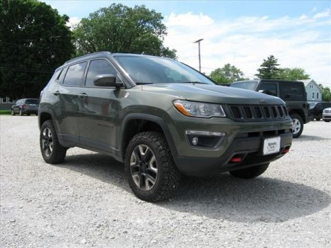 Pre-Owned 2017 Jeep Compass 4X4 Trailhawk